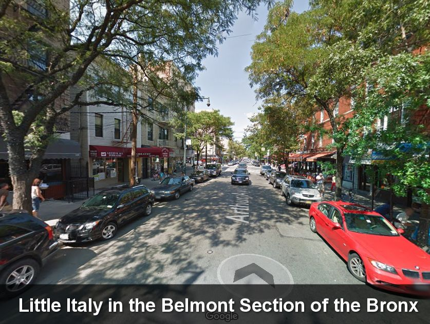 Little Italy Pizzeria For Sale in this Bronx neighborhood.